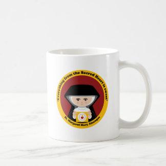 St. Margaret Mary Alacoque Classic White Coffee Mug