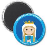 St. Margaret of Scotland 2 Inch Round Magnet