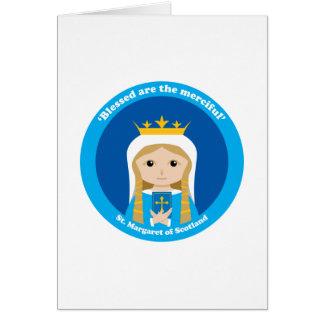 St. Margaret of Scotland Greeting Card