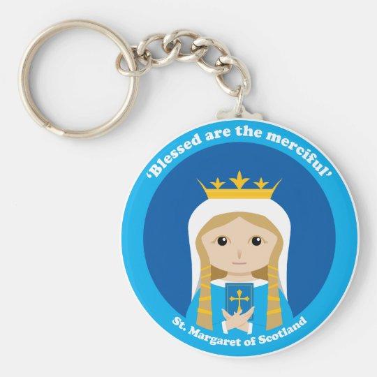 St. Margaret of Scotland Keychain