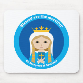 St. Margaret of Scotland Mouse Pad