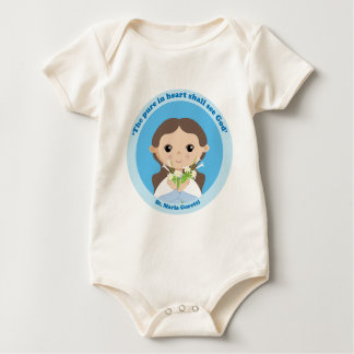 St. Maria Goretti Baby Bodysuit