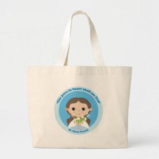 St Maria Goretti Tote Bags