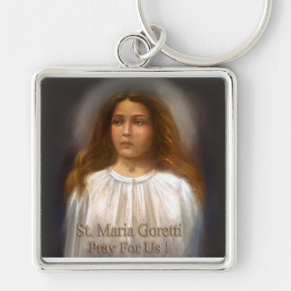 St. Maria Goretti, Martyr for Purity, Keychain