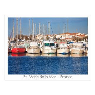 St Marie de la Mer - France Post Card
