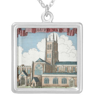 St. Marie Overie in Southwark Silver Plated Necklace