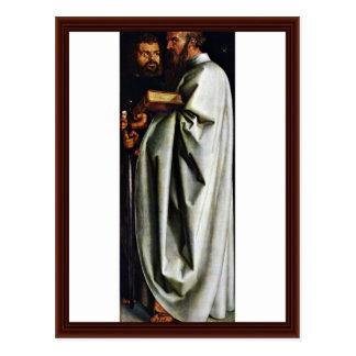 St. Mark And St. Paul By Albrecht Dürer Post Card