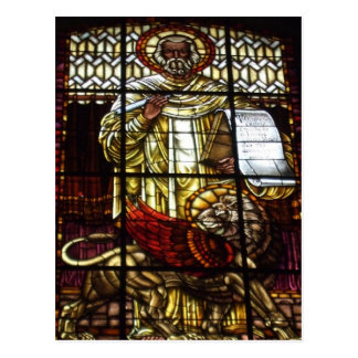 St Mark and the Lion Postcard