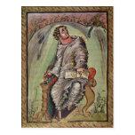 St. Mark at his desk Postcard