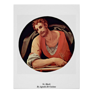 St. Mark By Agnolo Di Cosimo Posters