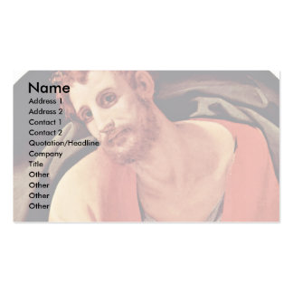 St. Mark By Bronzino Angelo Business Card Template