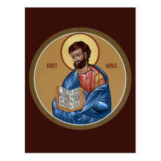 St. Mark Prayer Card Postcard