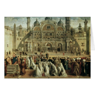 St. Mark Preaching in Alexandria, Egypt, 1504-07 Card