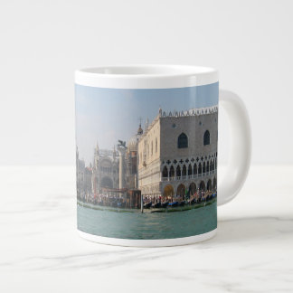 St. Mark's Square from the Grand Canal Large Coffee Mug