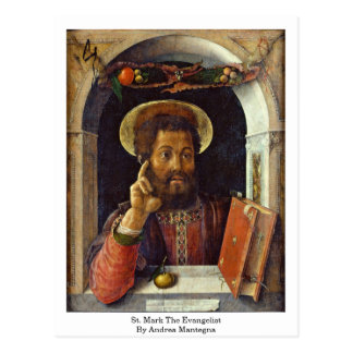 St. Mark The Evangelist By Andrea Mantegna Postcard