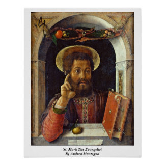 St. Mark The Evangelist By Andrea Mantegna Poster