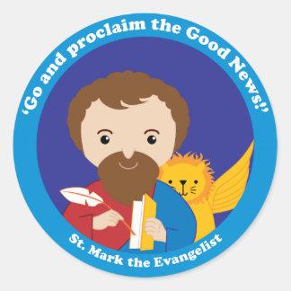 St. Mark the Evangelist Classic Round Sticker