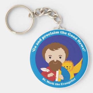 St. Mark the Evangelist Keychain