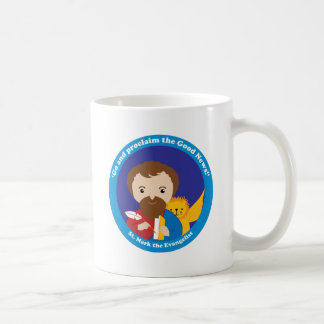 St. Mark the Evangelist Classic White Coffee Mug