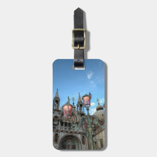 St. Marks and Lamp, Venice, Italy Luggage Tag
