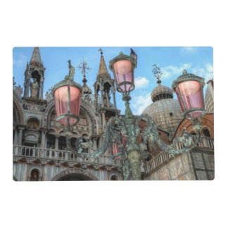 St. Marks and Lamp, Venice, Italy Placemat