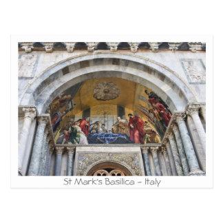 St Mark's Basilica Postcard