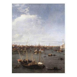 St. Mark's Basin by Canaletto Postcard