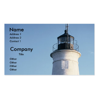 St Marks Lighthouse Business Card