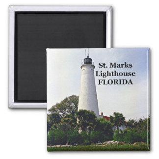 St. Marks Lighthouse, Florida Magnet