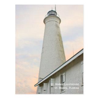 St. Marks Lighthouse Postcard