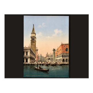 St. Mark's Place with campanile, Venice, Italy cla Post Cards