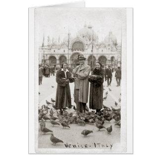St Marks Plaza Venice Italy Card