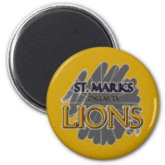 St. Marks School LIONS - Dallas, TX Magnet