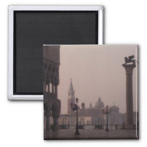 St Mark's Square 2 Inch Square Magnet