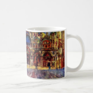 St. Mark'S Square In Venice By Pierre-Auguste Coffee Mug