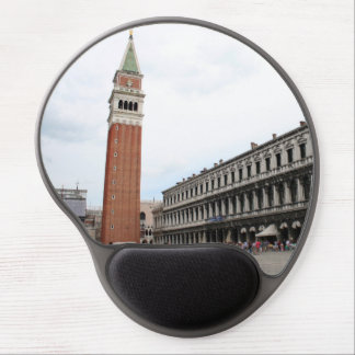 St Mark's Square in Venice, Italy Gel Mouse Pad