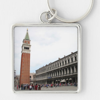 St Mark's Square in Venice, Italy Keychain