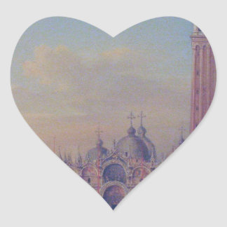 St. Mark's Square in Venice with Austrian military Heart Sticker