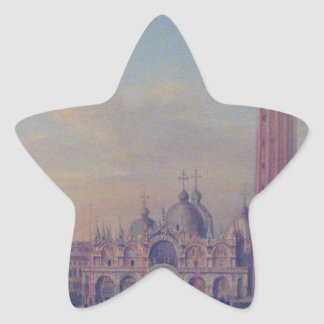St. Mark's Square in Venice with Austrian military Star Sticker