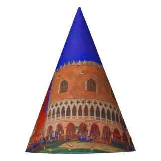St Mark's Square Piazzetta painting Party Hat
