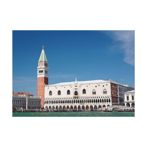 St Mark's Square Venice Italy Stretched Canvas Prints