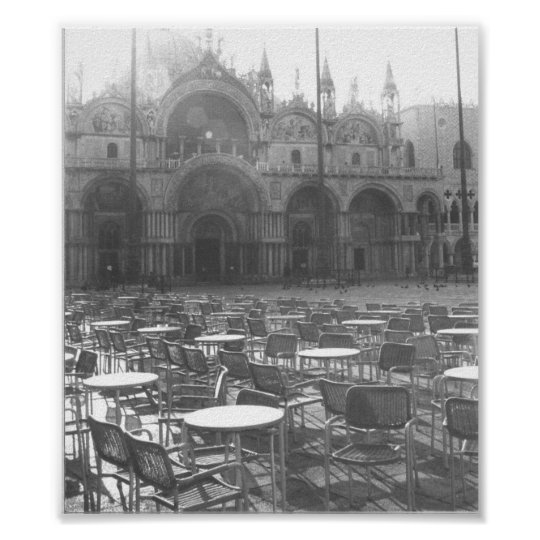 St. Marks Square Venice Italy Photo Print Poster
