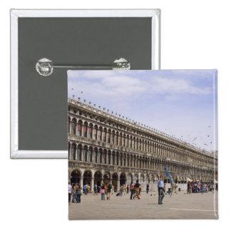 St. Mark's Square, Venice, Italy Pinback Button