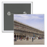 St. Mark's Square, Venice, Italy Pinback Buttons