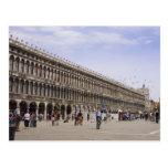 St. Mark's Square, Venice, Italy Postcard