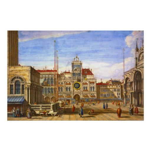 St. Mark's Venice 1715 Posters