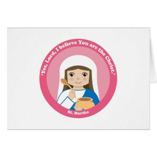 St. Martha Card