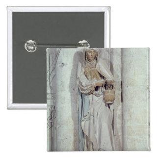 St. Martha Pin Cuadrada 5 Cm