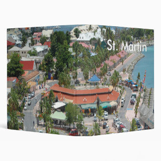 St. Martin 3 Ring Binder by Khoncepts