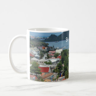 St. Martin and Marigot Bay Photo Coffee Mug